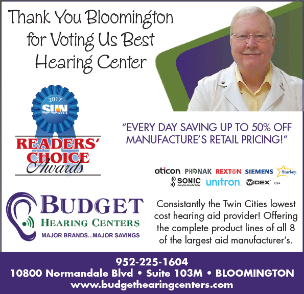 hearing aids and hearing evaluations in Bloomington, MN